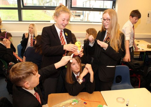 Pupils Prepare For The World Of Work Mansfield And Ashfield Chad