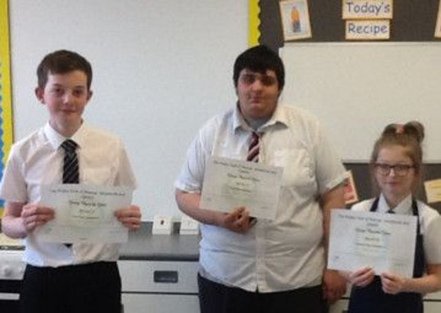 Warsop And Shirebrook Joe Leads The Way As Budding Chefs Cook Up A Treat Mansfield And Ashfield Chad