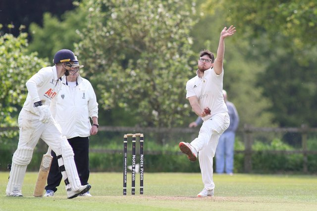 Daniel Harris - 3-64 against Attenborough on Saturday.