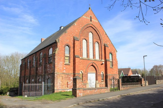 The former Methodist chapel on Chesterfield Road North in Mansfield. Photo: SDL Auctions