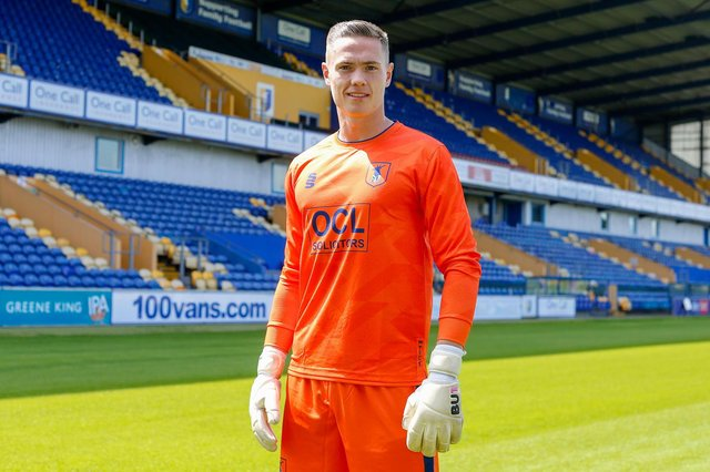 New Stags keeper Nathan Bishop.