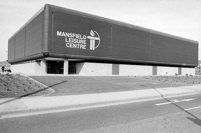The Leisure Centre was a popular addition to Mansfield when it opened in 1980.