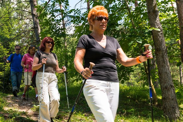 Ashfield Voluntary Action is introducing a number of activities for locals to take part in, including Nordic walking.
