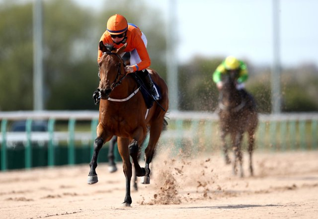 Jane Elliott rides a winner at Southwell in April.(Photo by Tim Goode - Pool/Getty Images)