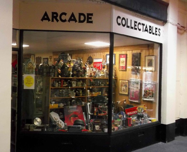 Arcade Collectables in Mansfield's Handley Arcade has been targeted by thieves.