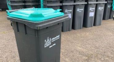 Kerbside glass recycling collection starts in Mansfield from Monday.
