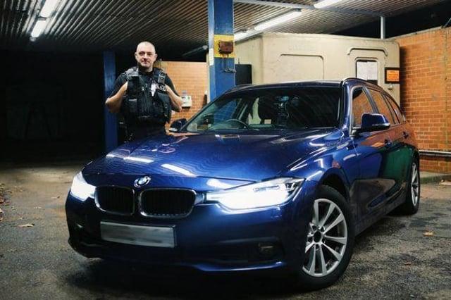 PC Phil Broughton. Photo:: Nottinghamshire Police.