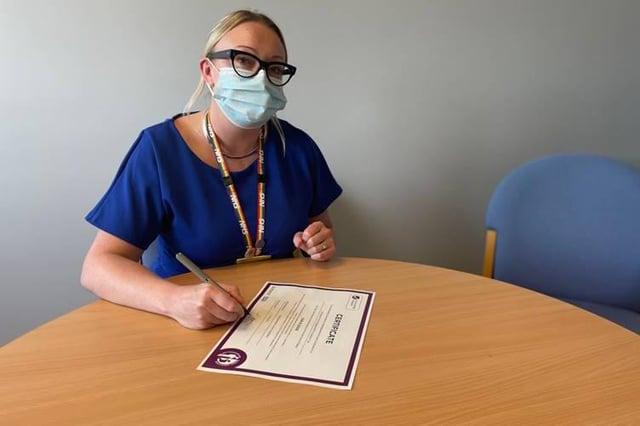 Sherwood Forest Hospitals Chief Nurse, Julie Hogg