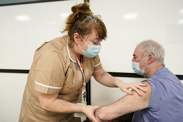 Chance to get your Covid-19 vaccine without an appointment (Photo by Ian Forsyth/Getty Images)