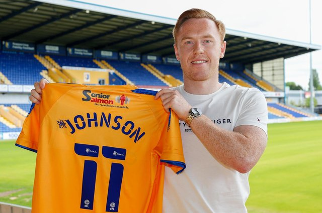 New Stags signing Danny Johnson.