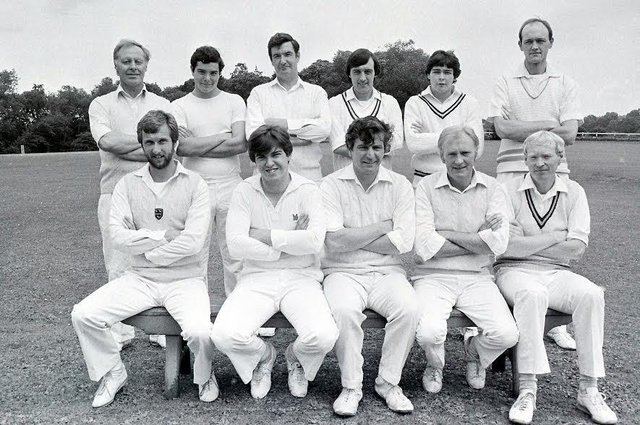 Did you play cricket for Teversal in 1982?