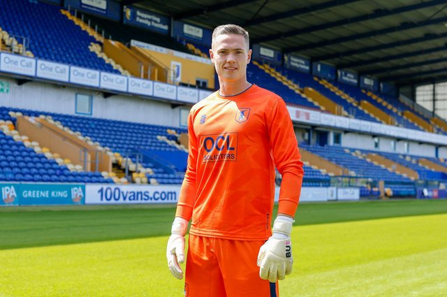New Stags signing Nathan Bishop - Picture by Chris Holloway.