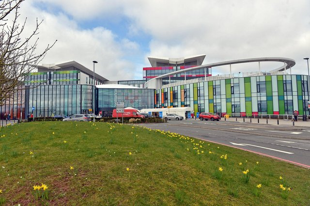 Sherwood Forest Hospitals Trust was caring for three coronavirus patients in hospital as of Tuesday, figures show.
