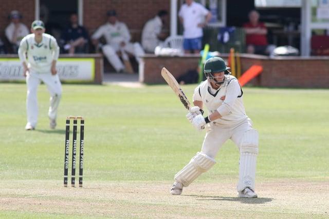 Nick Keast - took final Wollaton wicket in Saturday's victory.