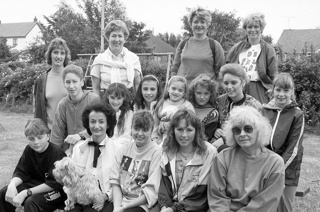 Another sponsored walk, this time Mansfield Ladies' Circle - do you remember this, or recognise anyone here?