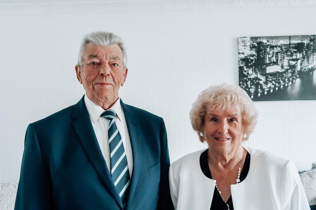 Kirkby couple James and Doreen Lloyd have celebrated their 61st  wedding anniversary.