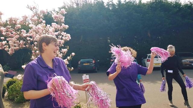 Burlington Care staff take part in activities