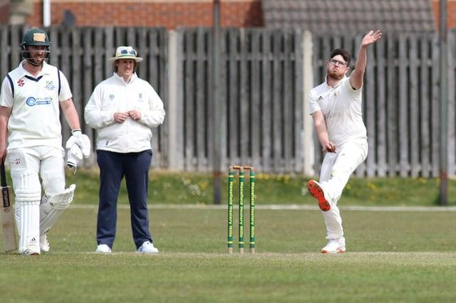 Dan Harris - 3-43 against Cuckney.