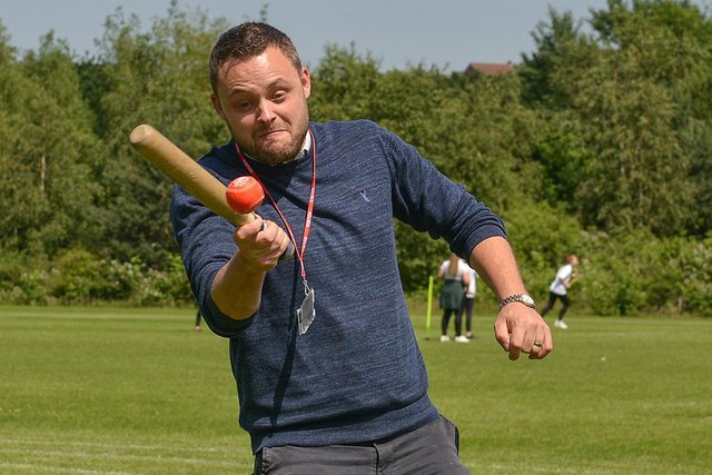 Mansfield MP Ben Bradley, who went into bat for the East Midlands during a Parliamentary debate.
