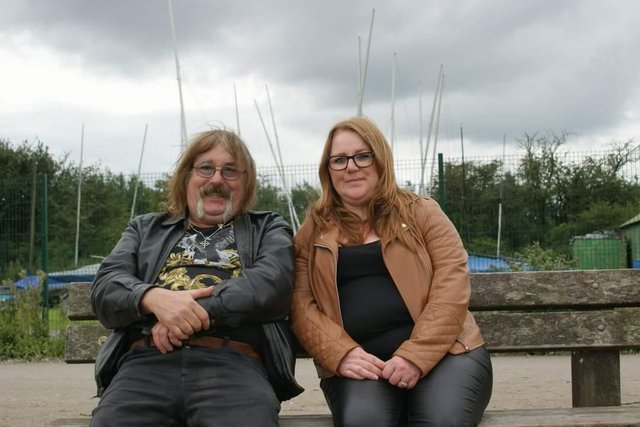 Johnny Hurst and Karen Brooks have recorded a new song to inspire people after lockdown ends