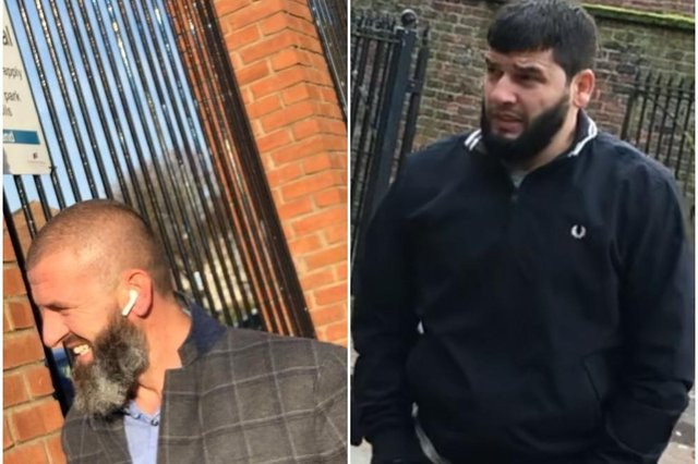 Brothers Defrim (left) and Jetmir Paci deny the modern slavery charges