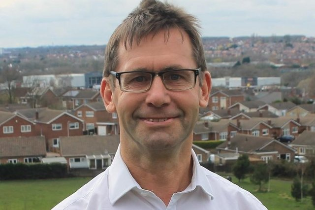 Andy Abrahams, leader of the Labour Group and Mansfield mayor.