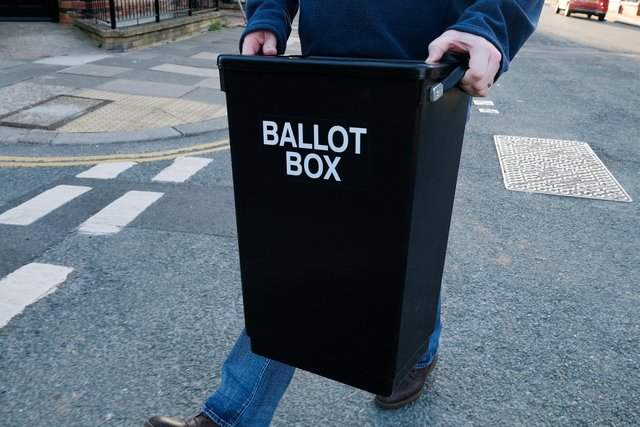 Voters up and down the country will head to the polls next month for the first bumper crop of elections since the coronavirus pandemic hit. (Photo by Ian Forsyth/Getty Images)