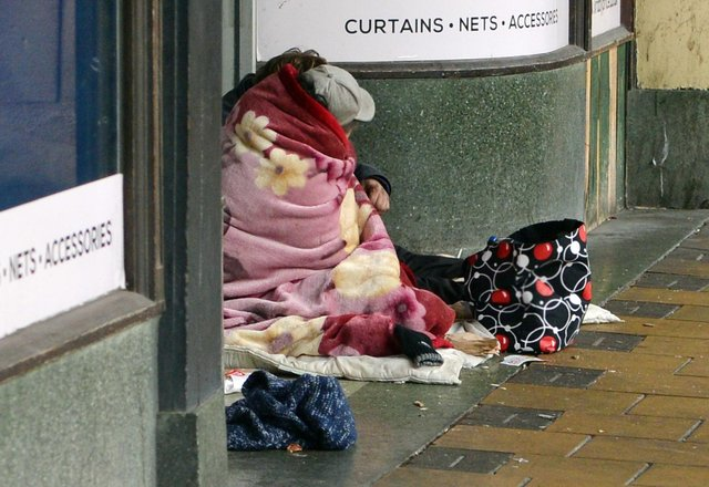 Rough sleeping in Mansfield is being tackled thanks to a multi-thousand pound cash boost.