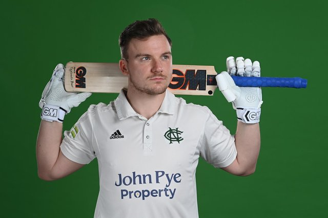 Liam Patterson-White of Nottinghamshire. (Photo by Laurence Griffiths/Getty Images)
