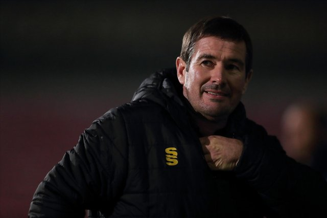 Stags boss Nigel Clough. (Photo by James Williamson - AMA/Getty Images)