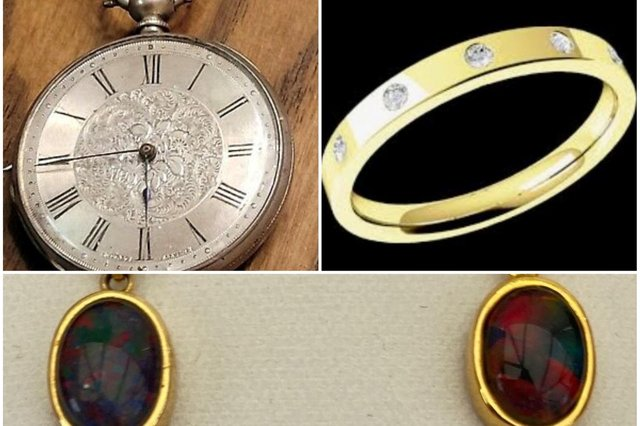 These were some of the items stolen form a home in Pinxton. Image: Derbyshire police.