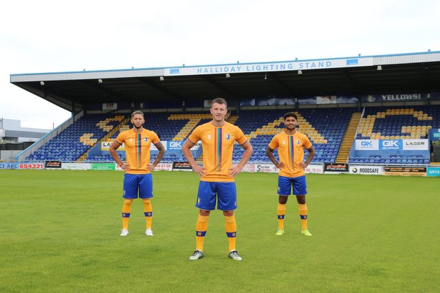 The charity shirt raised £3,800 for the NHS.