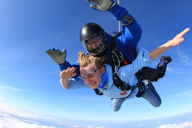 YouTube star TommyInnit takes to the skies over Nottinghamshire. Photo: Chris Cook