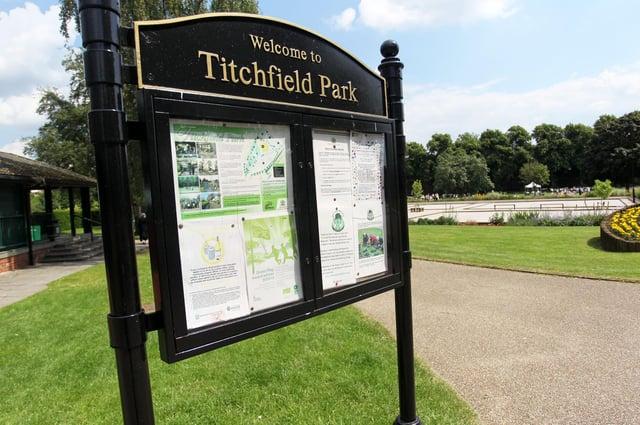 Titchfield Park in Mansfield