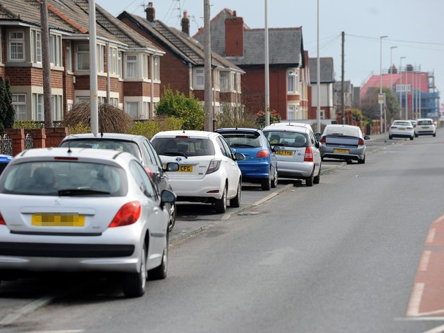 Pavement parking causes an obstruction for pedestrians