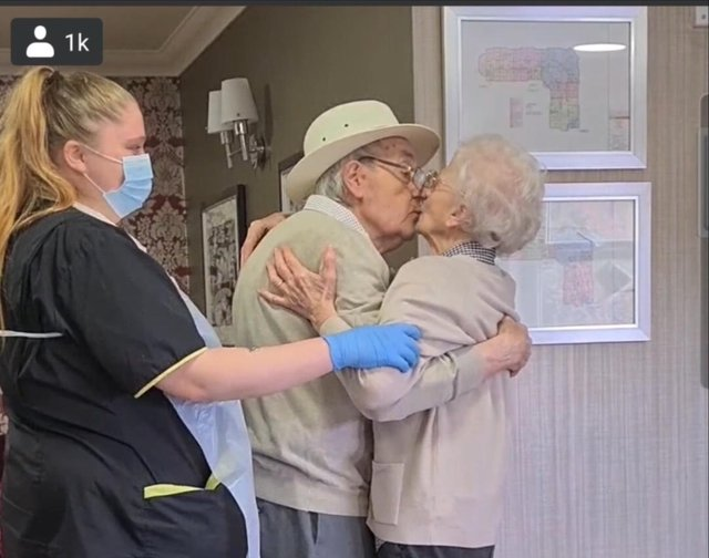 The emotional reunion was captured on video, which has been viewed 5.2 million times.