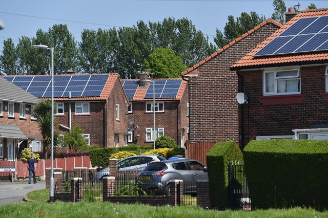 Fewer than 100 green home grants have been issued in Mansfield. (Photo by Anthony Devlin/Getty Images)