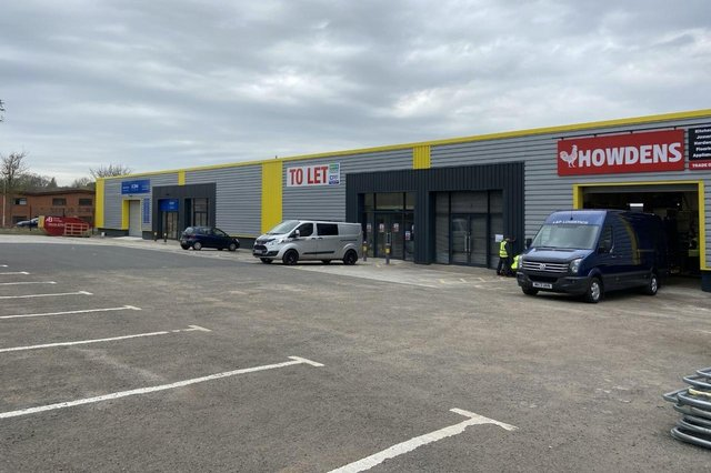 New tenants at Mansfield South Trade Park