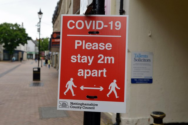 74 more coronavirus cases  have been diagnosed in Nottinghamshire
