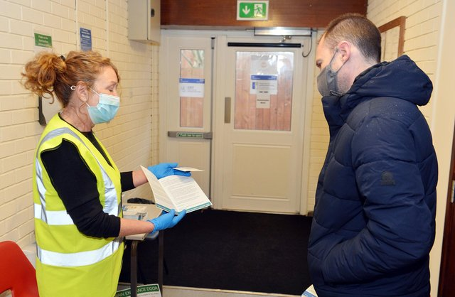 Mansfield Town Football club is hosting mobile rapid testing for coronavirus in its car park.