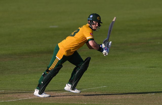 Tom Moores has extended his stay at Trent Bridge until the end of the 2024 season.