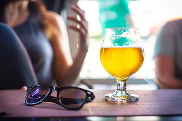 You can now get beer to your door using an app.