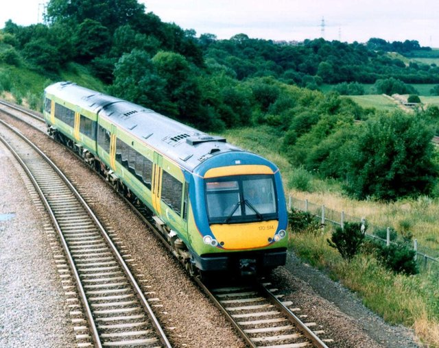 Passengers faced delays during morning rush-hour on the Robin Hood Line between Mansfield and Nottingham due to the theft of sigalling cables near the city.