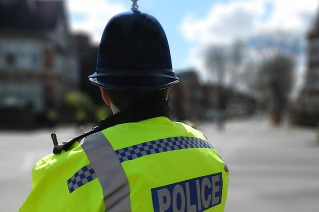 Officers seized multiple devices containing hundreds of indecent images