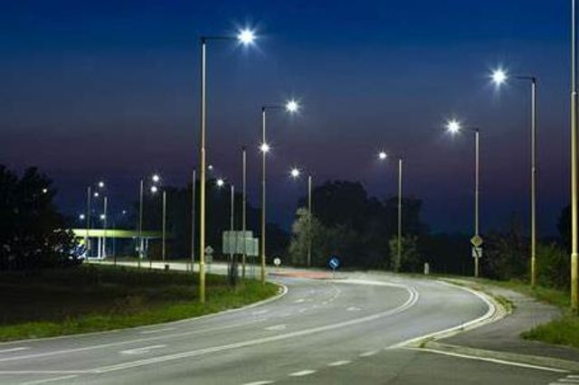 Nottinghamshire County Council has cut its spending on street lighting by more than £4 million over five years.