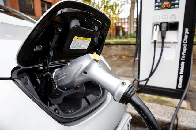 More Mansfield drivers are going green as the number of electric vehicles registered in the area surged last year, figures show. Photo: Miles Willis, Getty Images.