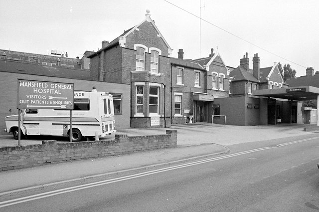 The hospital in it's heyday in 1980.