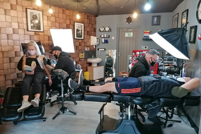 The Darkside Tattoo Collective in Mansfield Woodhouse.