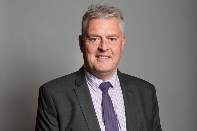 Lee Anderson says the new Freeport for East Midlands Airport will have a positive effect on Ashfield businesses. Photo: London Portrait Photographer-DAV