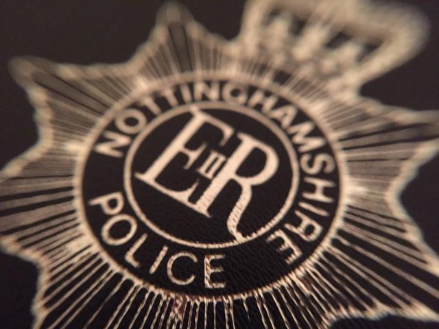 Police have praised security staff at a Mansfieldvenue after they safely detained a man who is alleged to pointed an air pistol at a victim.